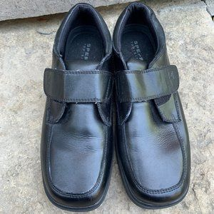 SPERRY Boys TOP SIDER Miles Black Shoes Sz 5.5